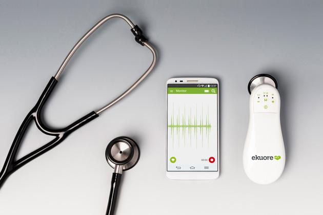 Conecta tu fonendoscopio a la eKuore vet app